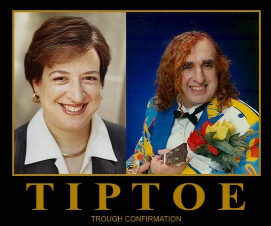 Tiptoe thru confirmation