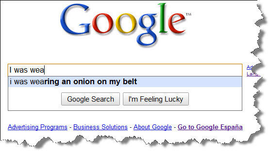Google mind reader