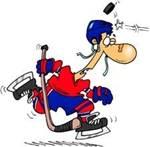 Hockey toon