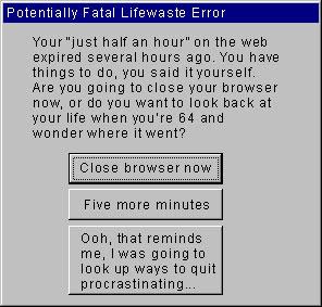 Lifewaste error