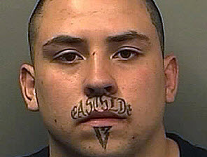 Lip tattoo
