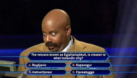 Volcano quiz