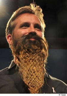 Beard braid