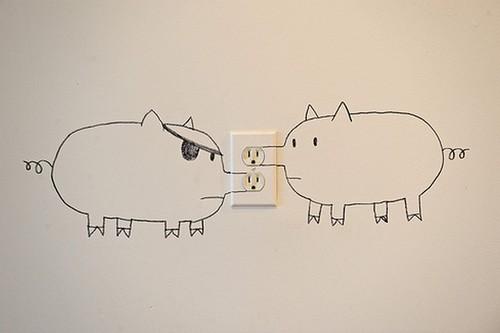 Pig outlets