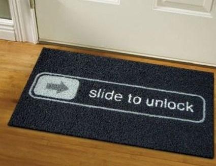Geek's doormat