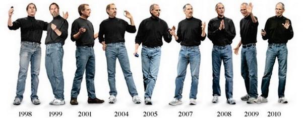 Steve jobs wardrobe