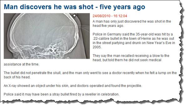 Man shot 5 yrs ago