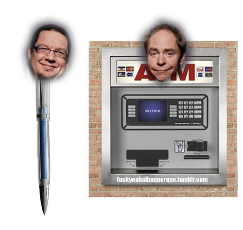 Penn and teller