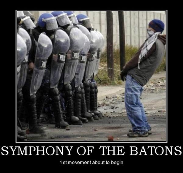 Symphony of batons