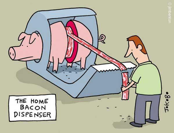 Bacon dispenser