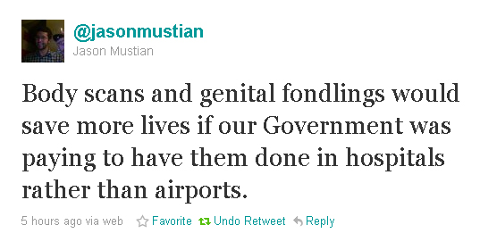 Tweet of the day
