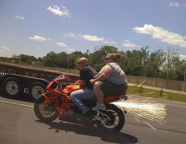 Heavy riding
