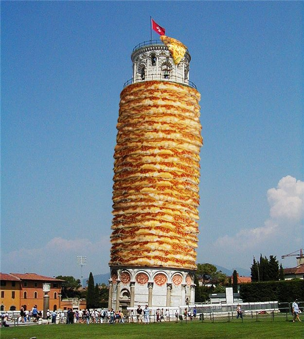 Leaning Tower of Pizza