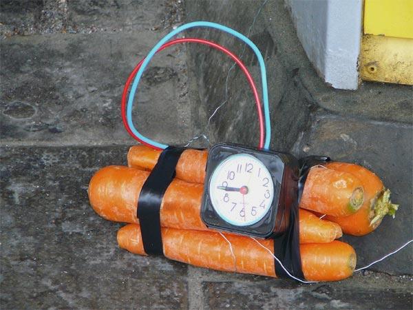Carrot bomb