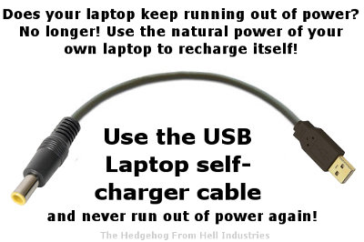 Laptop self charger