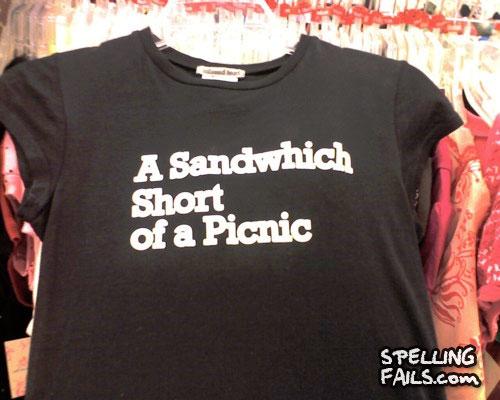 Sandwhich short
