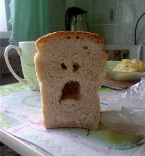You sliced me