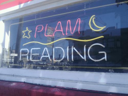 Plam reading