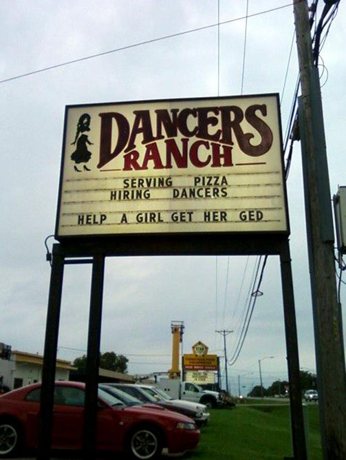 Dancers need GED
