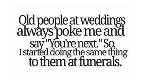Old folks pokes