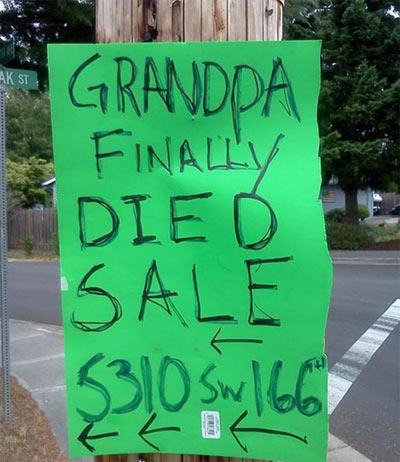 Grandpadiedsale