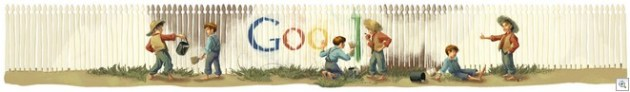 Mark twain google