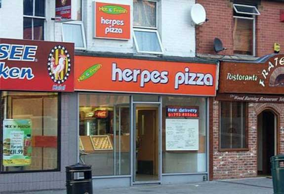 Herpes-pizza