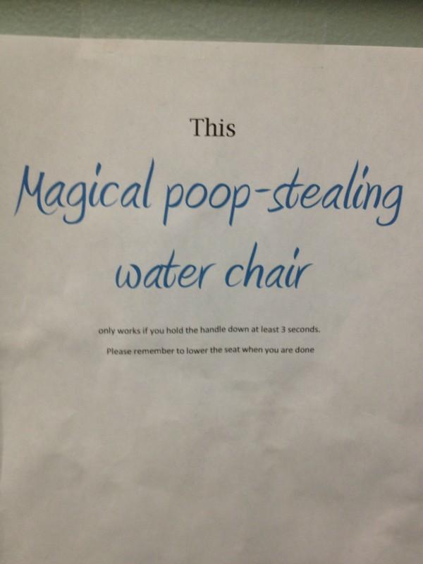 Not a toilet