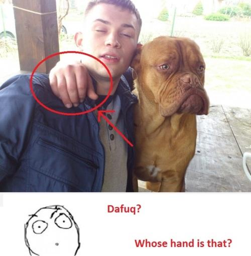 Doggy's hand