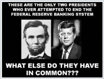 Debunking the Lincoln-Kennedy Federal Reserve Meme