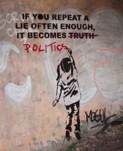 Lies and politics