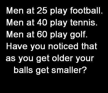 Men and balls