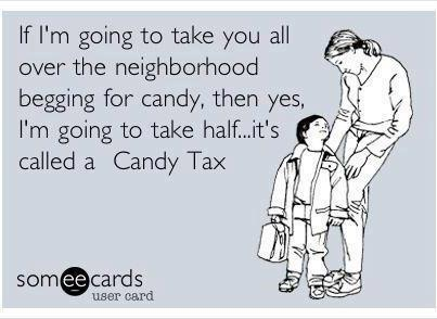 Candy tax
