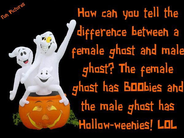 Male vs female ghosts