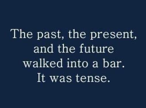 It was tense