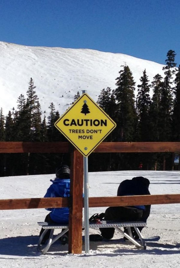 Skiers take note