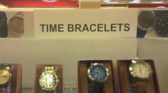 Time bracelets