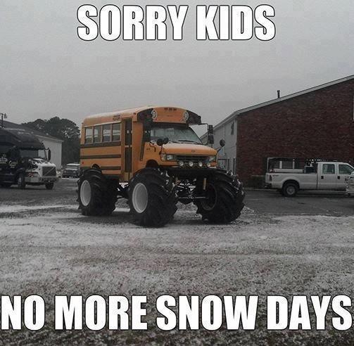 No more snow days