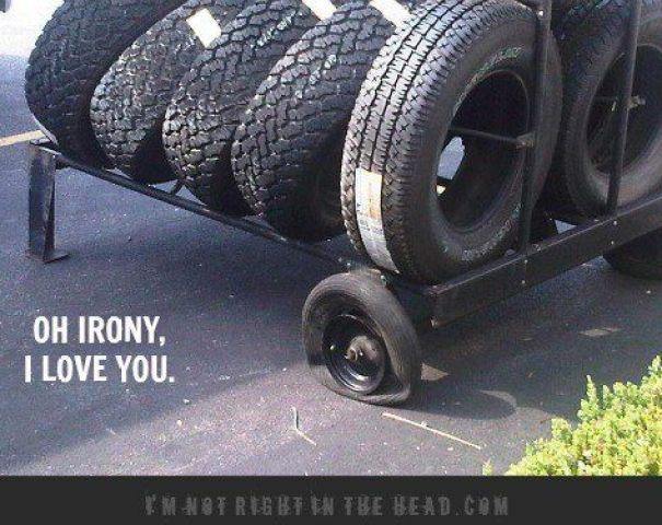 Oh irony