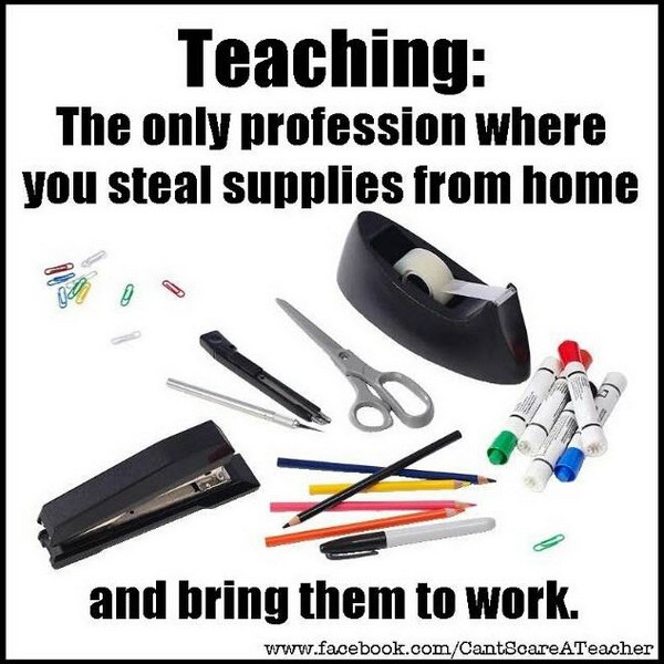 Stealing supplies