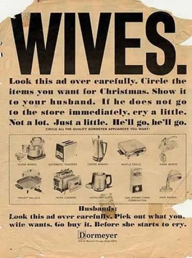Wives ad