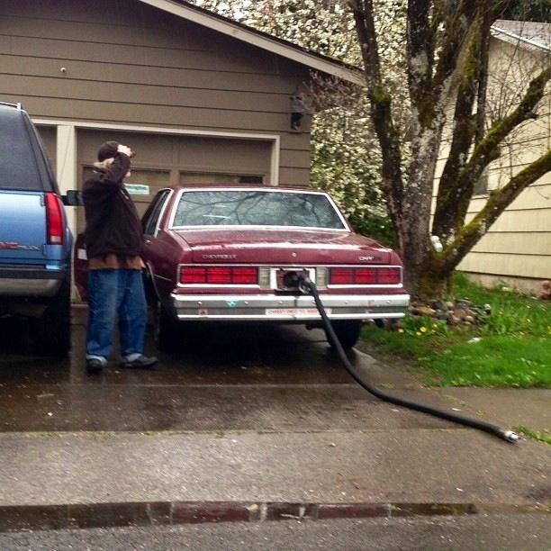 Gas station hose