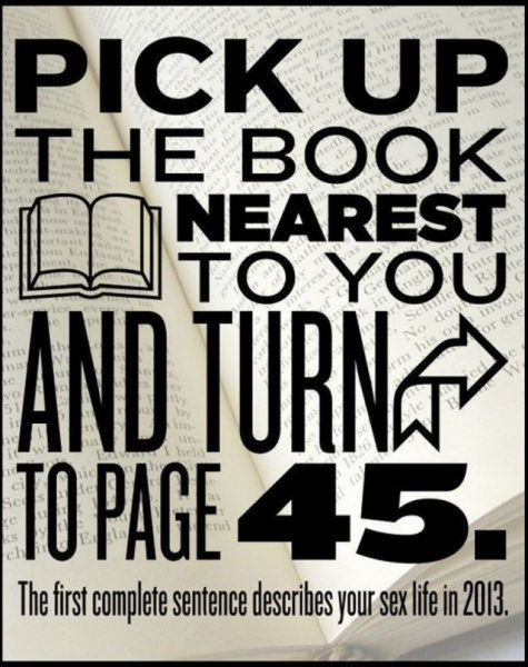 Page 45 describes your sex life