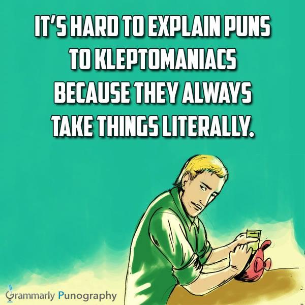 Kleptos and puns