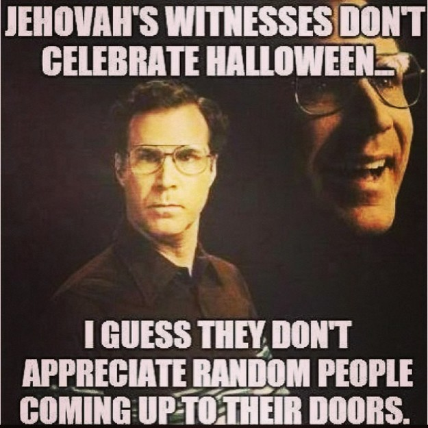 Jehovas witness and halloween2
