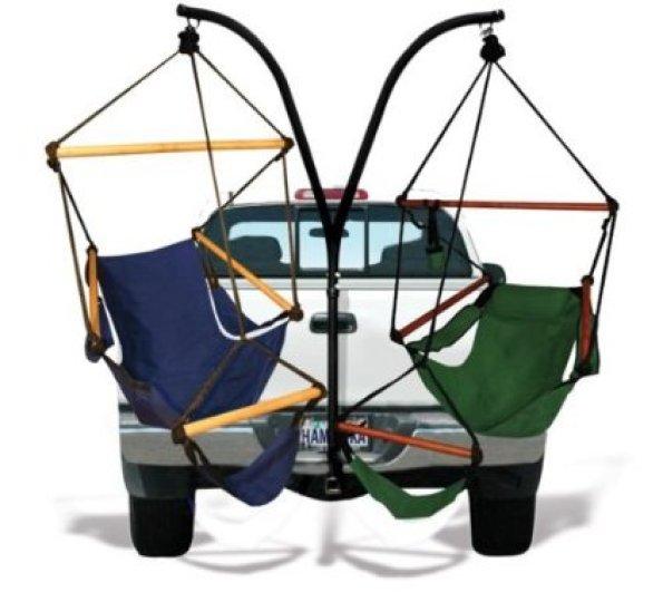 Trailer hitch hammock