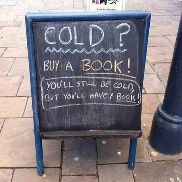 Cold buy a book