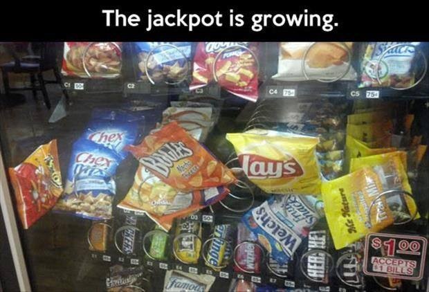 Jackpot is growing