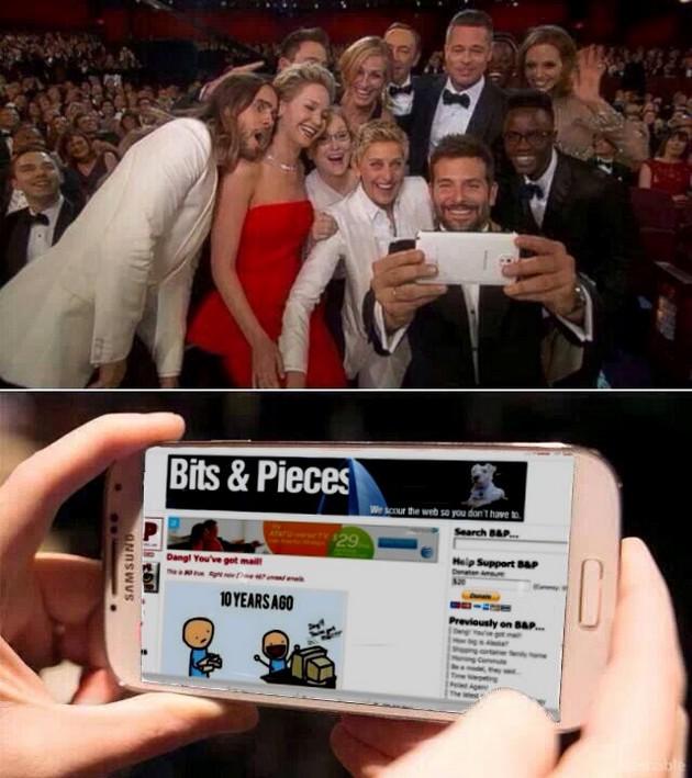 Celebrity selfie6