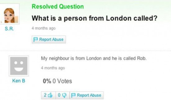 Person from london